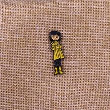 Coraline Bendy Doll Enamel Pin badge