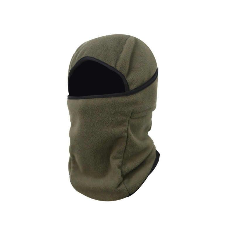 الشتاء قبعة الذكور في الهواء الطلق ركوب تزلج الدافئة يندبروف الإناث الخريف الوجه زائد المخملية قبعة الغبار الصوف كاب