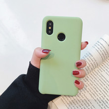 Original official Style Silicone Case For Xiaomi Mi 8 Fashion Multicolor Soft Back Cover Explorer Capa