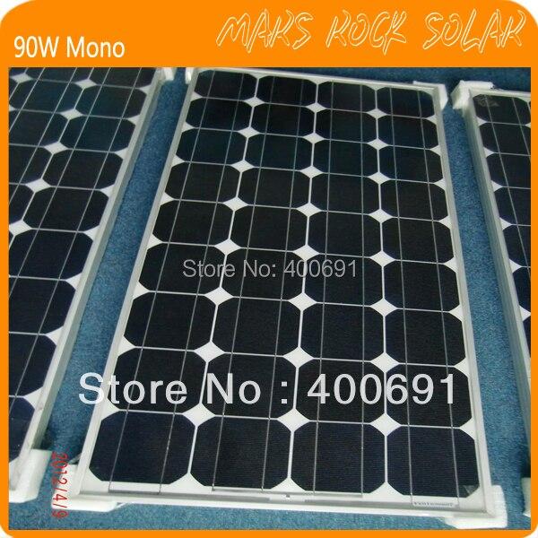 Panneau solaire monocristallin de 80 W, Module solaire de picovolte (certificat de la CE et de TUV)Panneau solaire monocristallin de 80 W, Module solaire de picovolte (certificat de la CE et de TUV)