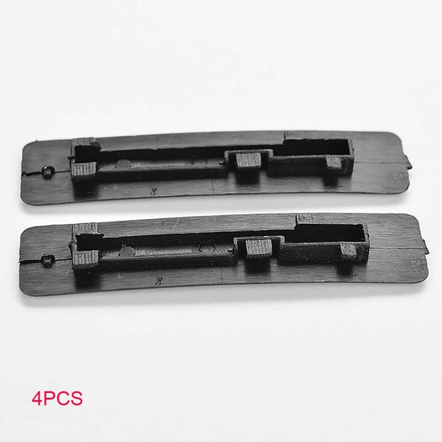 4Pcs Seal Cover Autos Car Roof Buckle Cover Lightweight Plastic Portable Easy Installation Compact Size For  M6 1