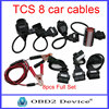 For TCS CDP Pro Cars Cables Diagnostic Interface Tool Full set 8 Car Cables Free For autocom tcs CDP cable car Scanner