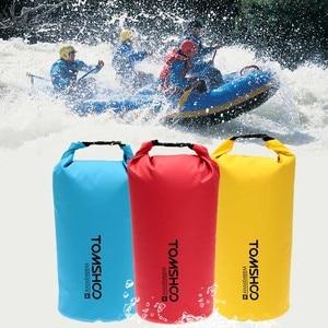 Image 5 - 10L/20L Allaperto di Acqua Resistente A Secco Sacco del Sacchetto Sacchetto di Immagazzinaggio per Viaggiare Rafting Canottaggio Kayak Canoa Campeggio Snowboard