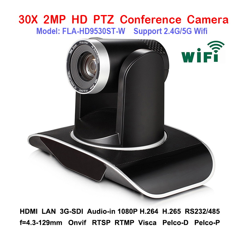 2.0Megapixel 1080P/60Fps Broadcast PTZ WIFI IP Camera 3G SDI DVI For Video Audio Media System|ptz wifi ip camera|wifi ip camera|ip camera - title=