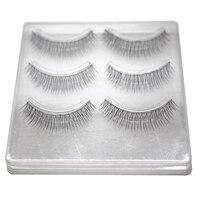 30 Pair Quality New Handmade False Eyelashes Natural Fake Lash Eyelash Extension Black Eye Lashes Make