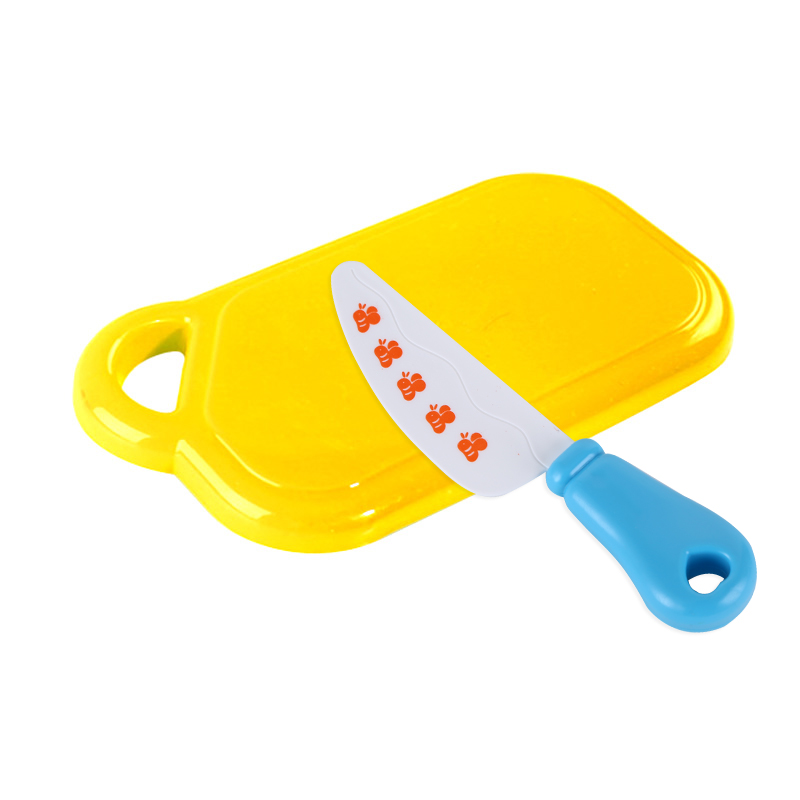Cutting Board Knife House Of Fruits And Vegetables And Joy Earnestly Read Every Toy Male Girl Childrens Educational Toys