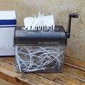 KiWarm Mini Hand Shredder Mechanic Paper Quilling Fringer Tools Handmade Paper Cutting Machine Tool for Office Home School