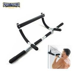 Equipamiento deportivo para interior barra extraíble de pared barbilla hacia arriba barra gimnasia barra Horizontal con múltiples usos