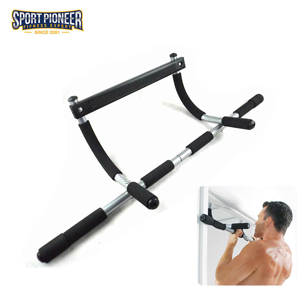 0d6e0cd0d3e Indoor Sports Equipment Pull Up Bar Wall Chin Up Bar Gymnastics Horizontal  Bar with Multiple Uses