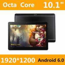 Nuevo diseño de 10.1 Pulgadas Original de 3G de la tableta del teléfono 8 Core tablet pc Android 6.0 tablet 4 GB RAM 128 GB ROM GPS 4G + 128G Tablet pc 7 8