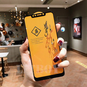 Image 5 - 6D Premium Gehärtetem Glas Für Xiaomi Pocophone F1 Redmi 6 Pro A1 A2 Schutz Glas Für Xiaomi Redmi Hinweis 6 screen Protector