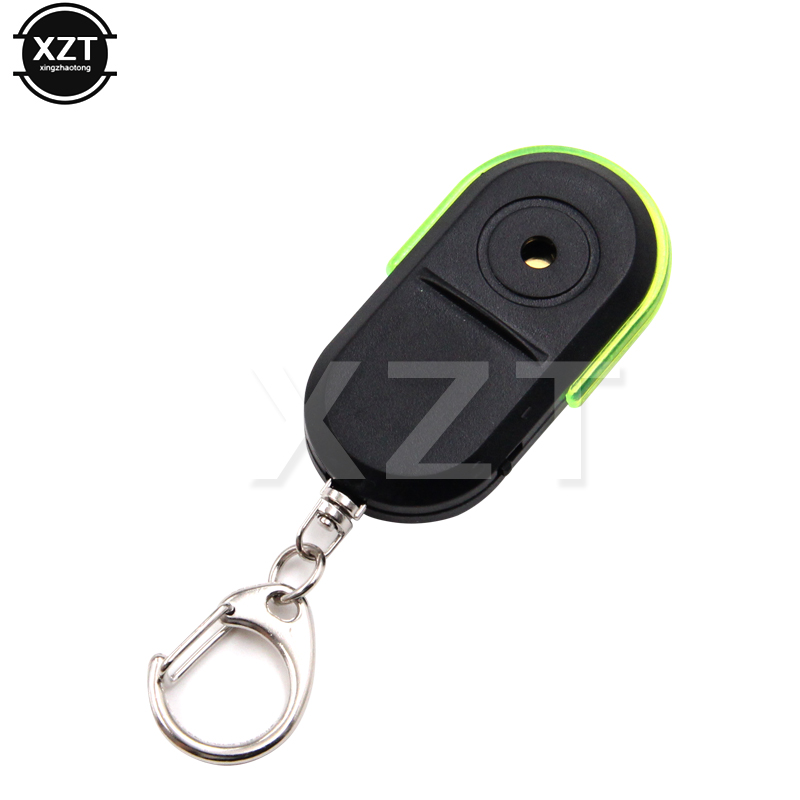 10 Stücke 10 M Wireless Anti-verloren Alarm Schlüssel Finder Locator Keychain Pfeife 30 Mal Sound Mit Led Licht Mini Anti Verloren Schlüssel Finder