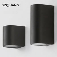 Dual Head/Single Head 10W Outdoor LED Wall Light Interior Decoration Living Room Bedside Night Lamps Warm Cool White|LED Outdoor Wall Lamps| |  -