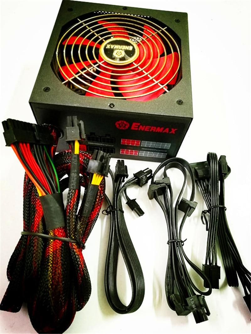 80PLUS Gold 850W Module Power Supply Temperature Control Support Dual CPU Desktop Computer Power Supply