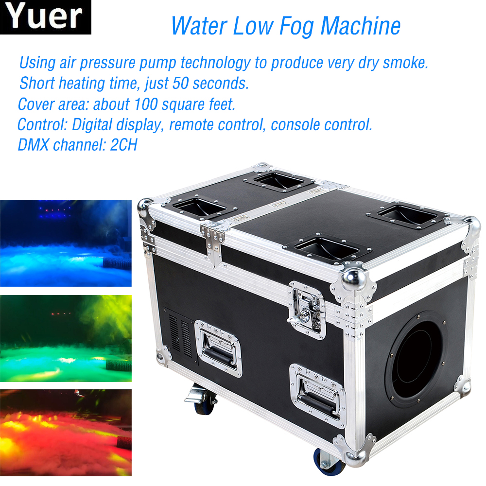 Professional Stage Dj Equipment DMX 3000W Water Low Fog Machine Create Dry Ice Effect Stage Ground