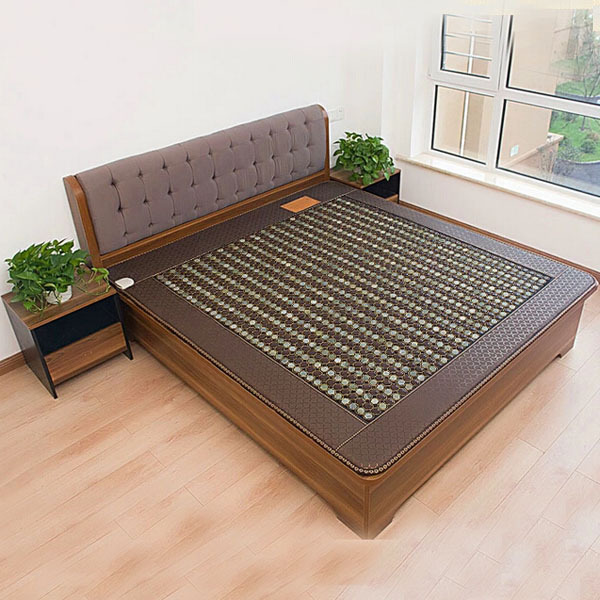 Hot Sale Jade&Germanium Stone Mattress Isothermia Heated Magnetic Mattress Health Care Physical Therapy Tourmaline Far Infrared pop relax tourmaline health products prostate massager for men pain relief 3 balls germanium stone far infrared therapy heater