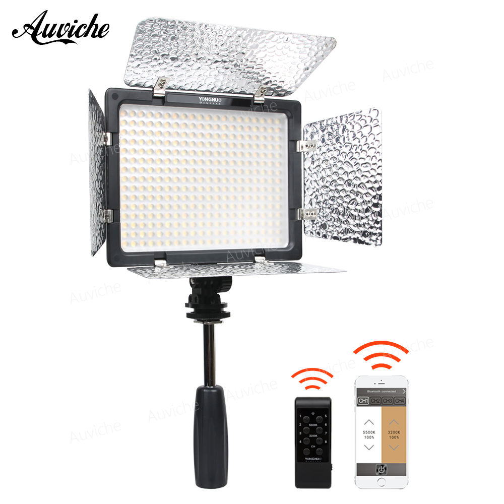 Yongnuo YN-300 III YN300 3200-5500K LED Video light Fill light Photography lights for Digital camera nikon canon DV Studio video yongnuo yn300 air 3200k 5500k yn 300 air pro led camera video light with np f550 battery and charger for canon nikon