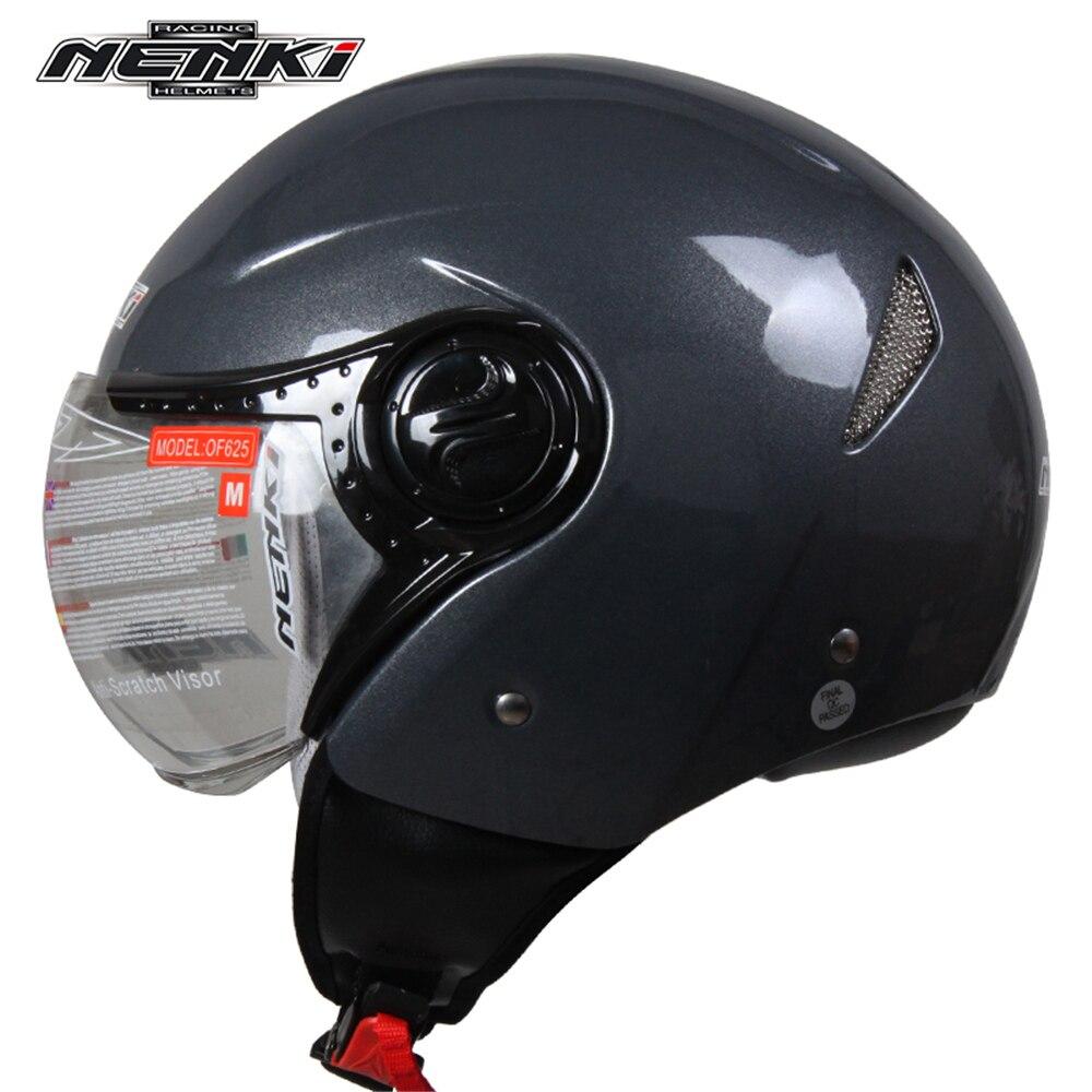 NENKI Removable Liner Summmer Motorcycle Helmet Men Women Motorbike Motocross Helmet Cascos Para Moto Motosiklet Kask