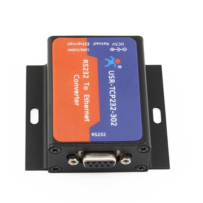 USR-TCP232-302 Trasporto Libero RS232 Seriale a Ethernet TCP IP Server DHCP/DNS Q18041USR-TCP232-302 Trasporto Libero RS232 Seriale a Ethernet TCP IP Server DHCP/DNS Q18041