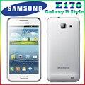 100% original Samsung GALAXY R Style E170 phone  4.3 Inch`` Touchscreen GPS 16GB ROM 8MP Refurbished Smartphone Free Shipping