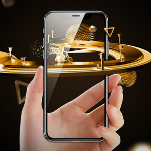 Image 5 - Vidrio Protector 99D para iPhone X XS Max XR, Protector de pantalla templado, cubierta completa, vidrio curvado para iPhone 6 s 7 8 Plus XR