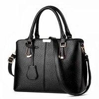 2016 Famous Brand Luxury Handbags Female Imitation Leather Big Shoulder Bags Women S Fashion Pendant Decorated
