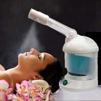 2 in 1 Maschine Gesichts Spray Dampfer, Mit Erweiterbar Arm Ozon Tisch Top Mini Spa Gesicht Design, 360 grad Drehbar Spray Kopf