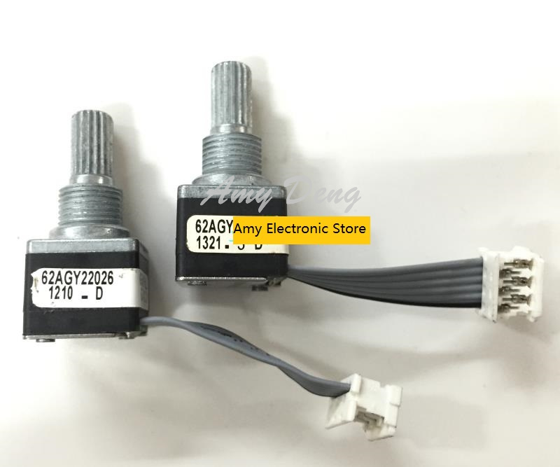 Free Shipping A6L Air Condioning Photoelectric Encoder Rotary Encoder Adjustment Potenometer With A Switch