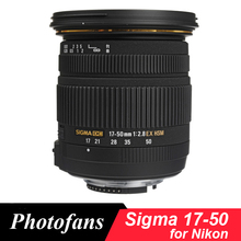 Sigma 17 50 Sigma 17 50Mm F/2.8 Ex Dc Os Hsm Lens Voor Nikon D5600 d5500 D5300 D5200 D7500 D7100 D7200 D500 D3400 D3300 D500