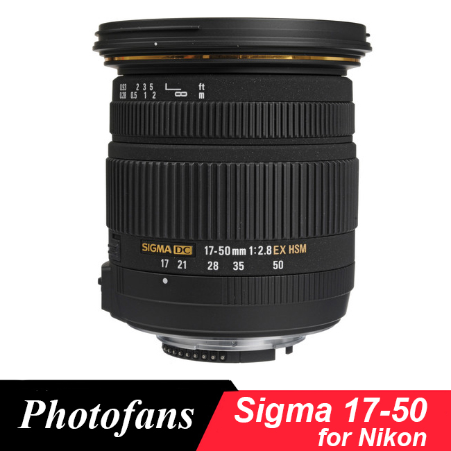 Sigma Sigma 17-50 17-50mm f/2.8 EX DC OS Hsm para Nikon D5600 d5500 D5300 D5200 D7500 D7100 D7200 D500 D3400 D3300 D500