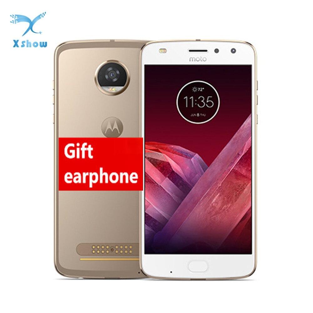 Motorola Moto Z2 Play 4GB RAM 64GB ROM OCTA Core 2.2GHz 5.5 ''1920*1080 P 12.0MP Android 8 ลายนิ้วมือ NFC โทรศัพท์มือถือ-ใน โทรศัพท์มือถือ จาก โทรศัพท์มือถือและการสื่อสารระยะไกล บน AliExpress - 11.11_สิบเอ็ด สิบเอ็ดวันคนโสด 1