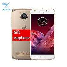 Motorola Moto Z2 Spelen 4Gb Ram 64Gb Rom Octa Core 2.2Ghz 5.5 1920*1080P 12.0MP Android 8 Vingerafdruk Nfc Mobiele Telefoon