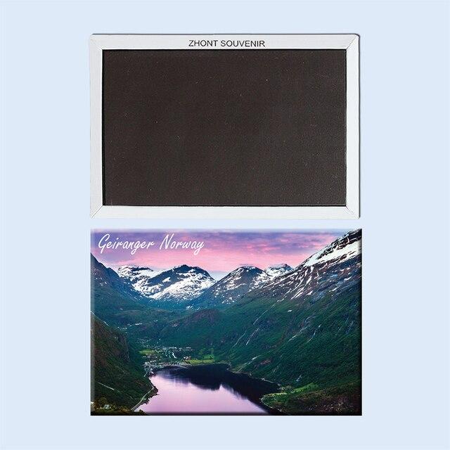 Scenic beauty Geiranger in Norway 22717, Souvenirs of  Tourist Landscape,Geiranger fridge magnet,Travel refrigerator magnet