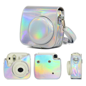 Image 3 - For Fujifilm Instax Mini 8/9 Instant Film Camera Case Bag, PU Leather Cover with Shoulder Strap