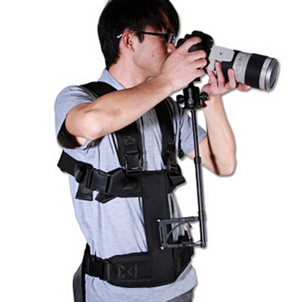 bilder für Kamera steadicam weste video steadycam camcorder movi stabilisator weste DSLR halten stützstange 5D2 stetige cam system