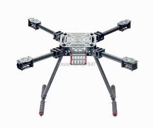 Image 3 - Upgrade F550 ZD550 550mm / ZD680 680mm Carbon fiber Quadcopter Frame FPV Quad with Carbon Fiber Landing Skid