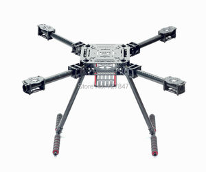 Image 3 - Upgrade F550 ZD550 550mm / ZD680 680mm Carbon fiber Quadcopter Rahmen FPV Quad mit Carbon Fiber Landing Skid