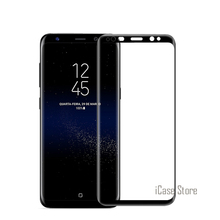 Color Curved Surface Full Cover Tempered Glass For Samsung Galaxy S8 Plus Screen Protector Explosion Proof Cover Film For S8+(China)