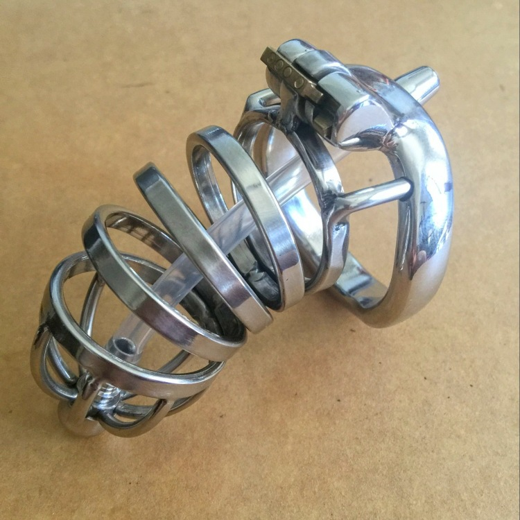 Sex Tools For Sale New Stainless Steel Male Chastity Device Cock Cage Penis Virginity lock Cock Ring Adult Game Chastity Belt . small chastity device stainless steel cock cage metal male chastity belt penis ring bondage sex toys dragon totem virginity lock