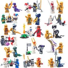 32pc/lot Children's building blocks toy Compatible Legoing Ninjagoes city Phantom Ninja destroys evil forces figures Bricks gift
