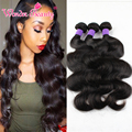 Queen Hair Brazilian Body Wave Sexay Hair Unprocessed Brazilian Hair Weave 3 Bundles Deal 8A Brazilian Body Wave Hair Extension