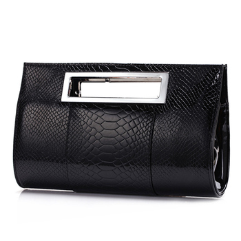 2018 Luxury famous Brand women evening bag lady tote alligator Leather clutch party bolsos de mano fiesta shoulder bag B90