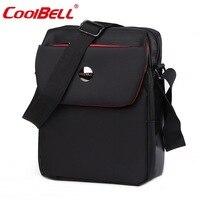 Coolbell 10.6 pulgadas maletín bandolera bolsa de mensajero maletín bolso de mano de la tableta bolso de la computadora portátil para ipad air