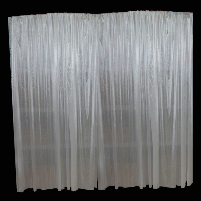 48m Ice Silk Wedding Fabric Backdrop Curtain Background For Pipe And Drape Dispalys