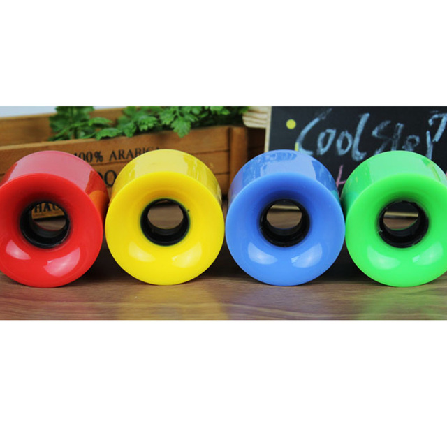 4pcs/set 60mmx45mm Long Board Wheel High Strength Multicolor Skateboard Wheels Wearproof 4 x Wheel For Skateboard 3