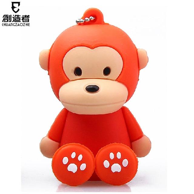16g usb flash drive little monkey cartoon usb flash drive usb flash drive
