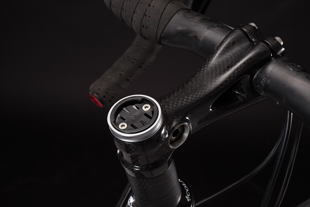 Silverock Bike Fixed Stem Top Cap Headset Cap Computer Mount For GARMIN Edge Wahoo Elemnt Mini Bolt Computers GPS Holder 5