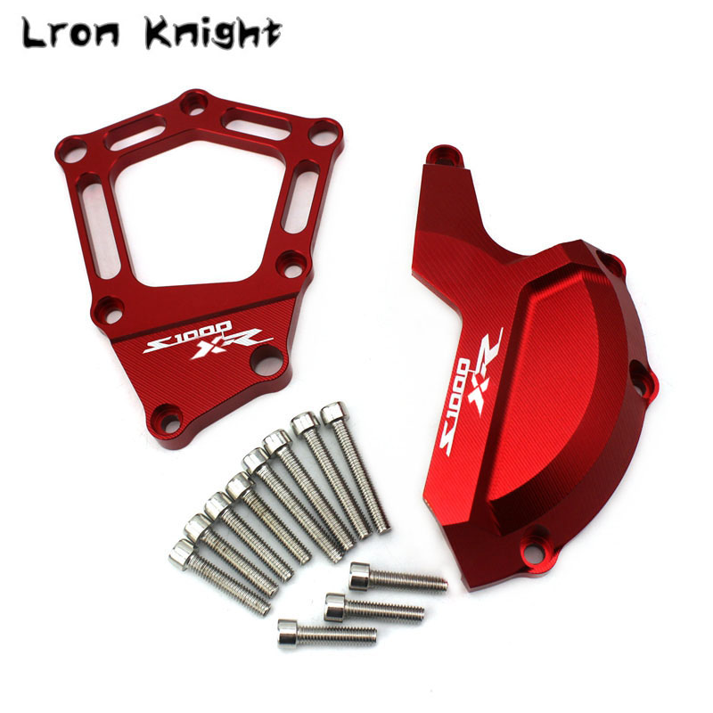For BMW S1000XR S1000 XR S 1000XR Motorcycle Accessories CNC Aluminum Engine Stator Cover Case Slider Protector