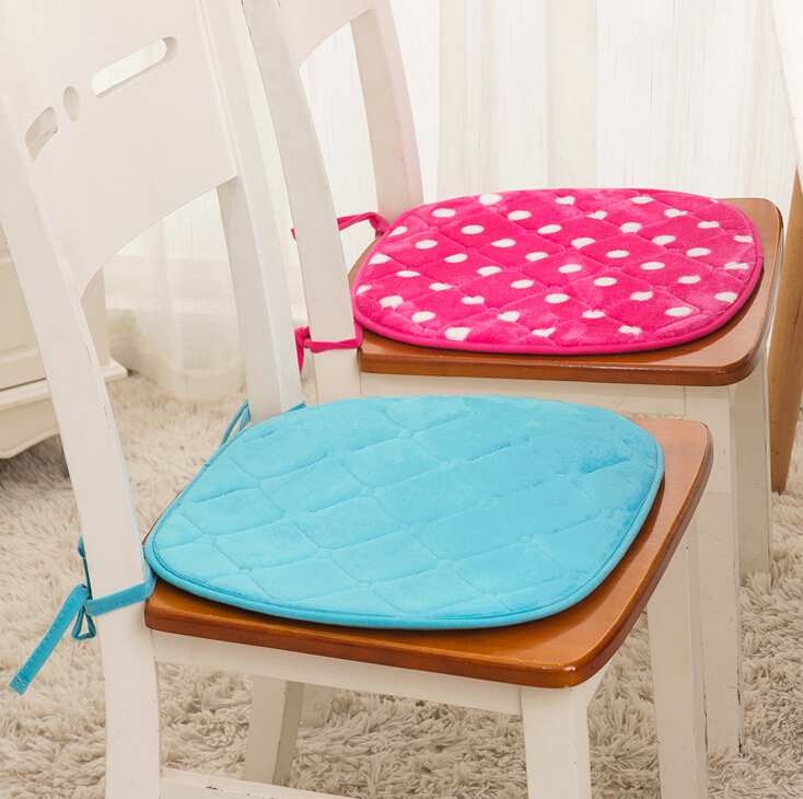 Brief Style Memory Foam Seat Cushion Chair Pad Dining Table Sofa Home TexileChina
