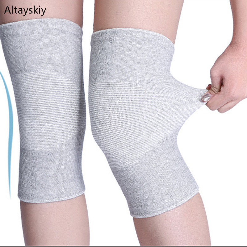 Knee Sleeve Women 2020 Breathable Comfortable Chic Fit Solid Soft All-match  Leisure Trendy High-quality New Simple Womens Girls